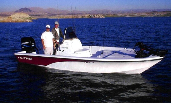 22' Center Console Fishing Boat In Henderson Nevada, United States