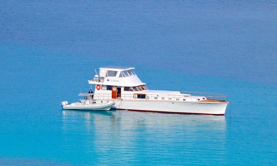 80' Sailing Mega Yacht Charters In St. Thomas, U.s. Virgin Islands