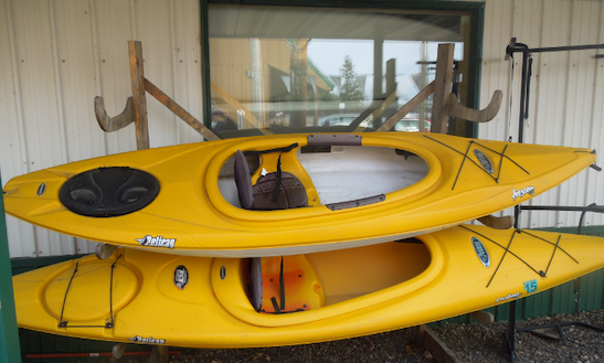 Single Kayak Rental In Crooked Lake Township, Minnesota