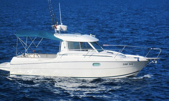 Charter Jeanneau Merry Fisher 695 Fishing Boat In Sali