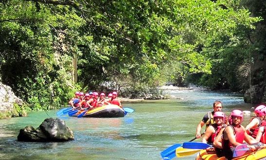 White Water Rafting In Ölüdeniz Belediyesi