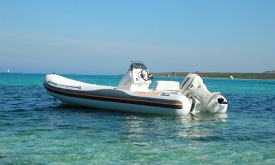 19' Altamarea Wave Rib Hire In Stintino, Italy