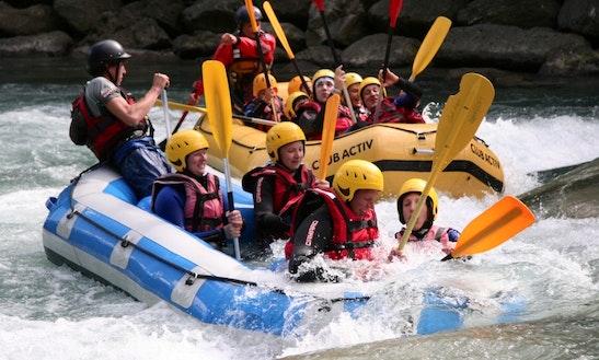 White-water Rafting Trips In Ahrntal