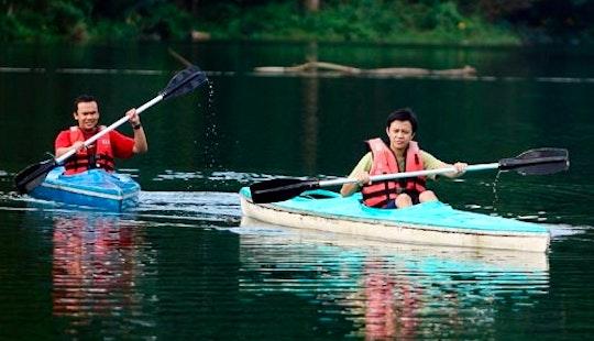 Explore Kuala Berang, Malaysia On A Single Kayak