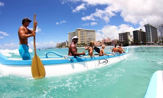 Canoe Trips In Honolulu, Hawaii
