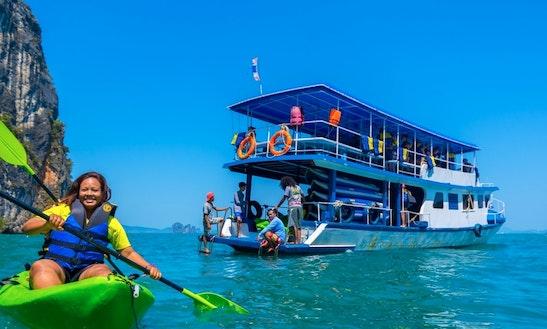 Enjoy Phuket, Thailand On Passenger Boat