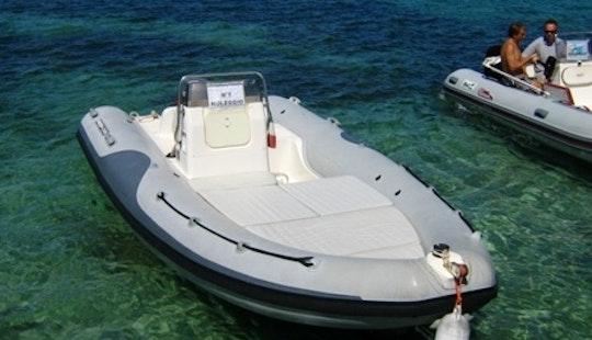 Deck Boat Rental In Stintino