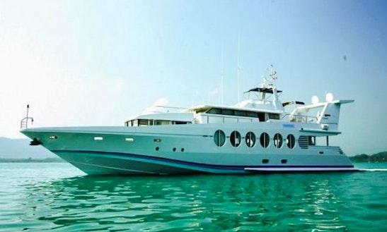 Ocean Fast 132 Power Mega Yacht Charter In Tambon Mai Khao
