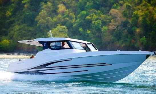 Silvercraft Cruiser 36 Motor Yacht Charter In Koh Keaw