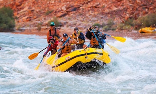 White Water Rafting At Koprulu Canyon