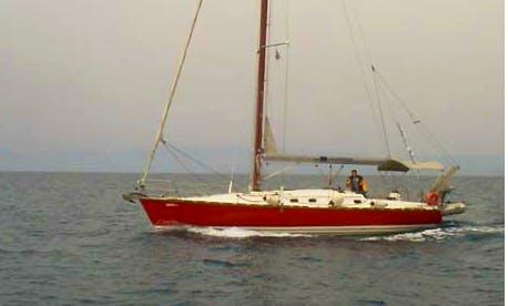 """Fafos"" Sailing Yacht Charter in neos marmaras Halkidiki"