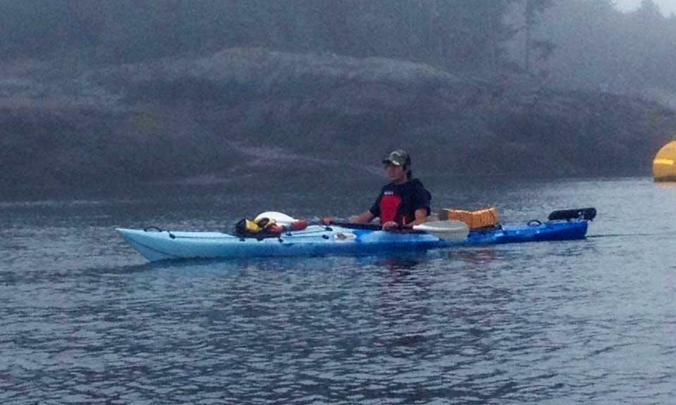 Single Kayak Tours in Saint Martins
