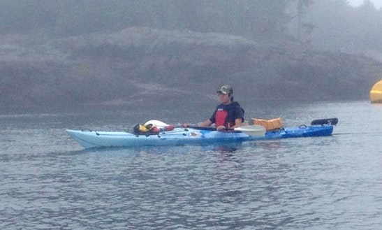 Single Kayak Tours In Saint Martins