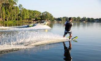 Water Skiing in Tisno