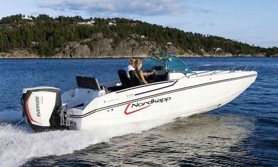 Nordkapp Enduro 705  Power Boat  Rental In Split