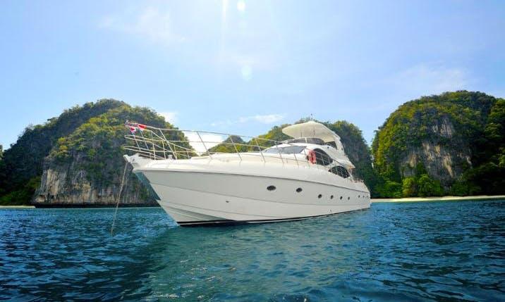 Lambert 80 Power Mega Yacht Charter in Tambon Mai Khao
