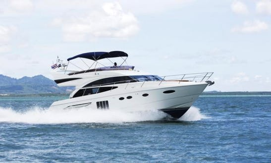 Princess 60 Power Mega Yacht Charter In Tambon Mai Khao
