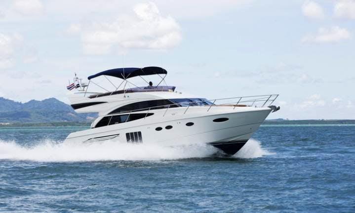 Princess 60 Power Mega Yacht Charter in Tambon Mai Khao