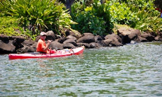 Single Kayak In Kapaa, Hawaii