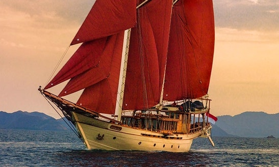 Phinisi 163 Sailing Mega Yacht Charter In Tambon Mai Khao