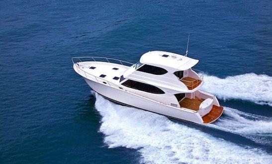 Maritimo 48 Motor Yacht Charter In Tambon Mai Khao