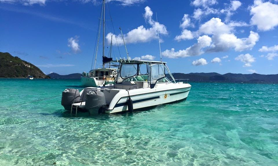 Virgin Island Boat Excursions on VIBE 1