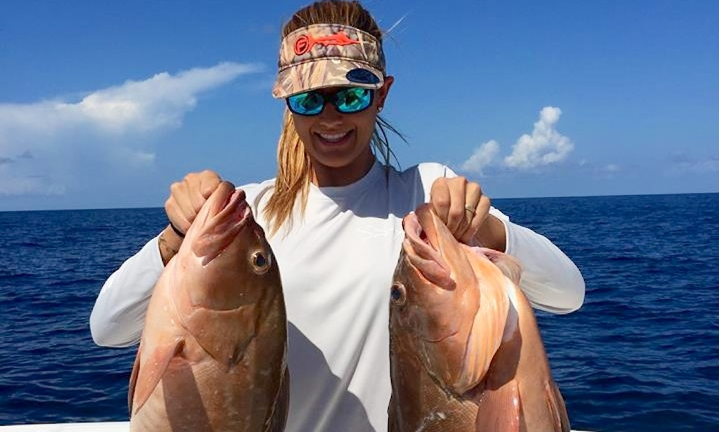 Tampa bay inshore fishing charter on 25 39 avenger boat with for Charter fishing tampa