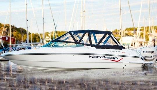 Nordkapp Noblesse 820 Rs Power Boat Rental In Split