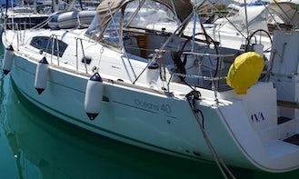 Oceanis 40 Yacht Charter in Bibinje