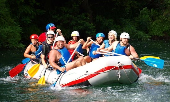 River Rafting Trips In Omiš
