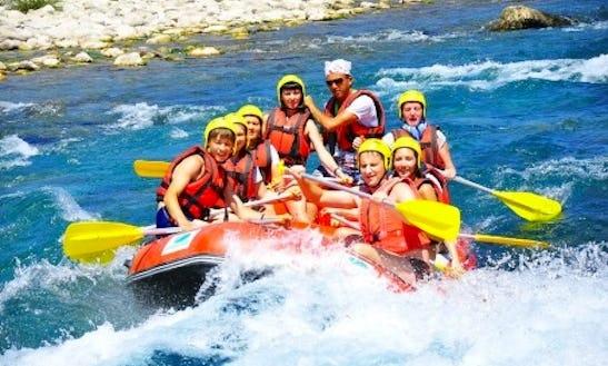 Enjoy An Extreme Rafting Trips In Antalya, Turkey