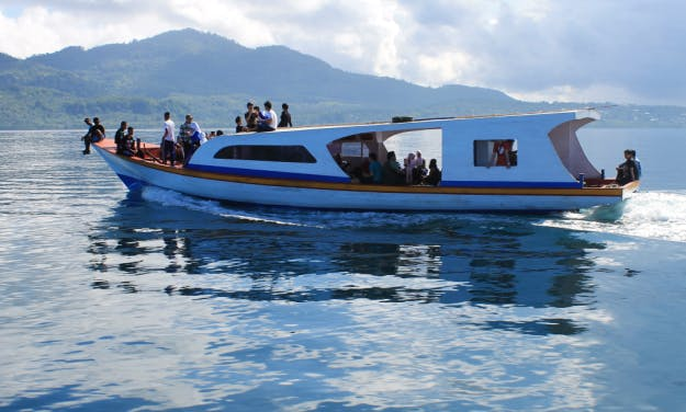 Deck Boat rental in Bunaken & Siladen Island