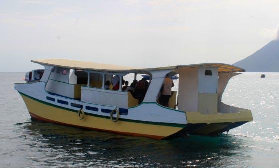 Power Catamaran rental in Bunaken