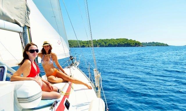 42ft Van der Staat cruise in Halkidiki, Greece