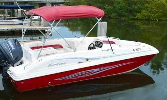 23' Red Pearl Deck Boat In Pompano Beach, Florida