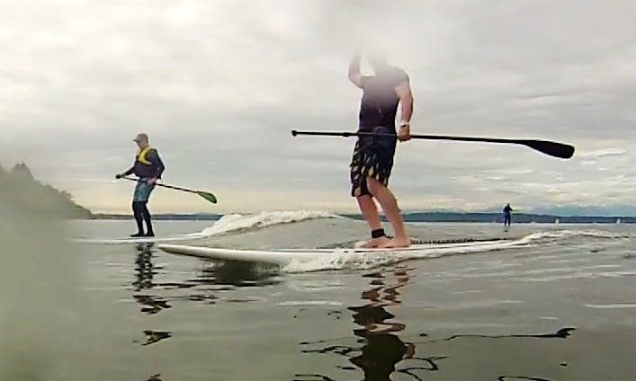 SUP Board Rental and Lesson In Seattle