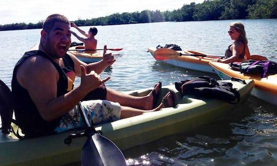 Single Kayak Rental & Tours In Port St. Lucie, Florida