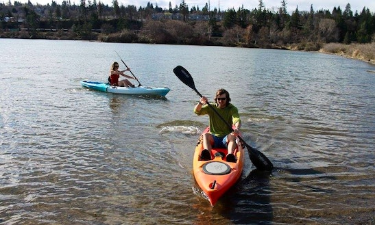 Single Kayak Rental, Tours & Lessons In Hood River