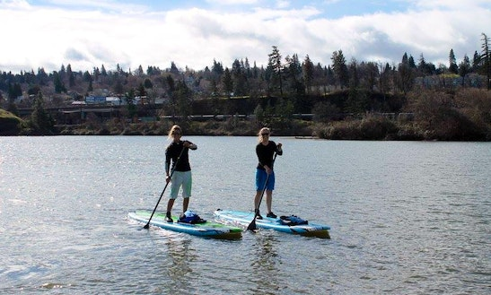 Stand Up Paddleboard Rental, Tours & Lessons In Hood River
