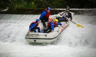 River Rafting Trips in Luče