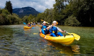 Double Kayaking Trips & Courses in Luče