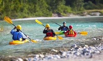 Single Kayak Trip & Courses in Luče