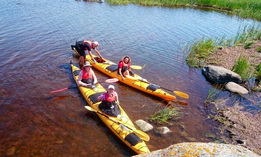 Double Kayak Trips in Valga