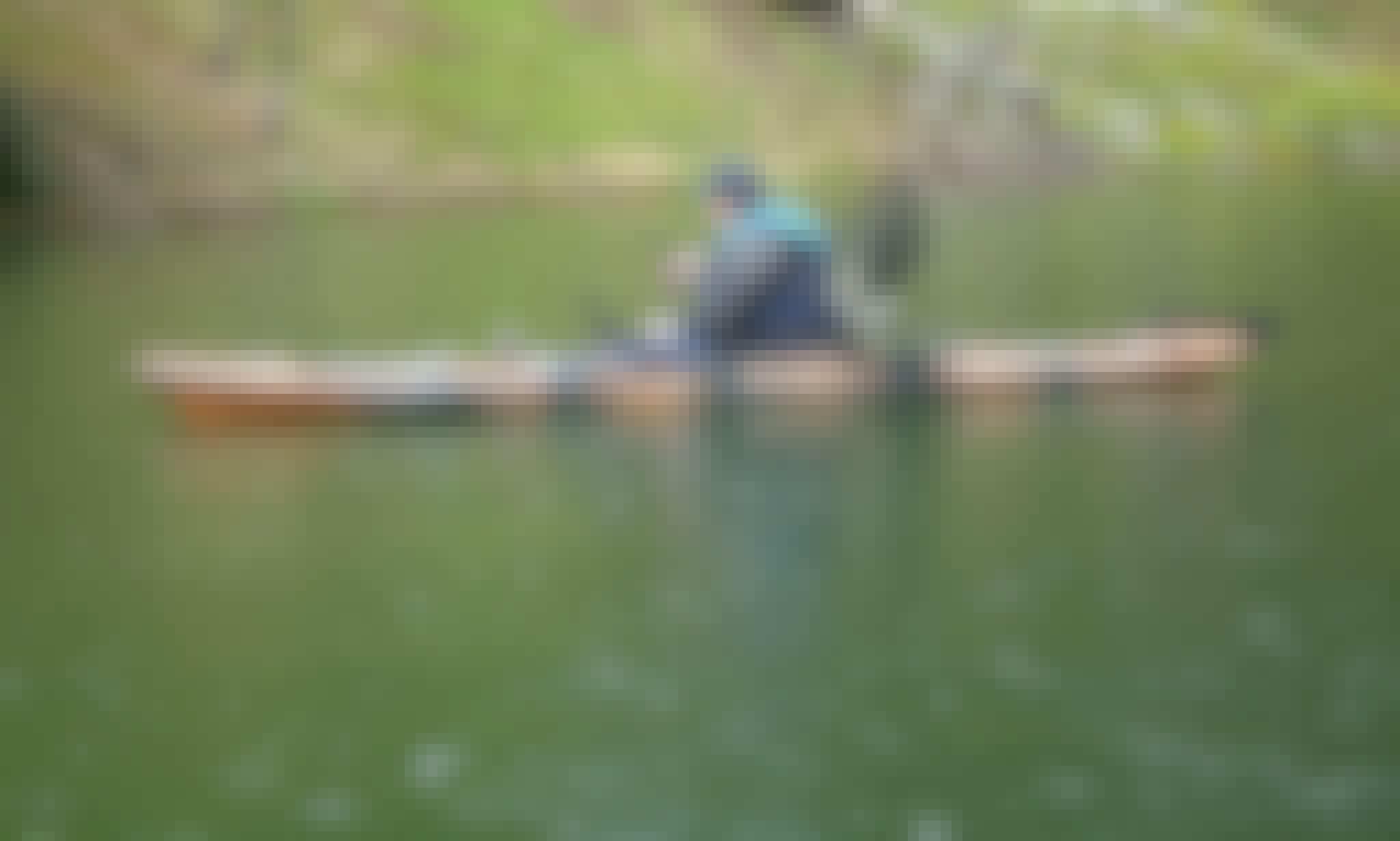 Kayak Fishing in Šimuni, Zadarska županija