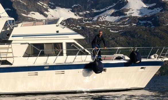 Trawler Fishing charter in Norway
