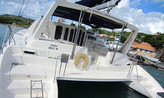 Leopard 4700 Cruising Catamaran Charter In Grenada