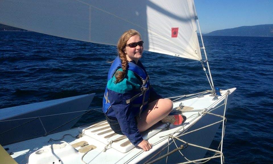 26' Sloop Rental & Lessons in Olga, Washington