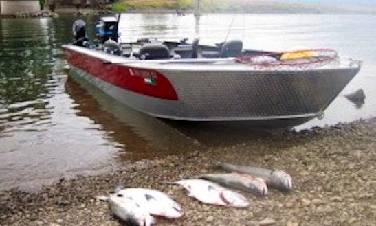 23' Alumaweld Super Vee Boat Fishing Charters In Woodland, Washington