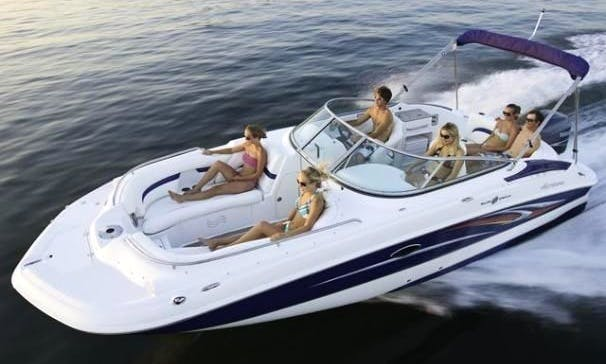 Enjoy 24 ft 2400 Hurricane in Cape Coral, Florida Rates as low as $200 per day (minimum 3 days) 10 people max.