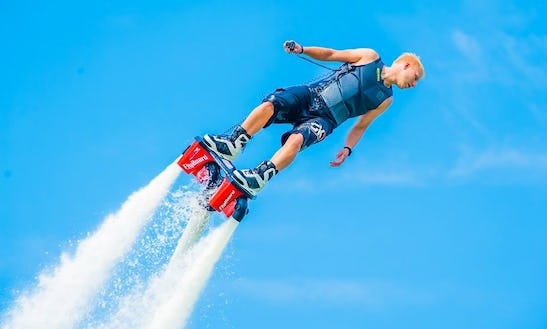 Flyboarding In Henderson, Nevada